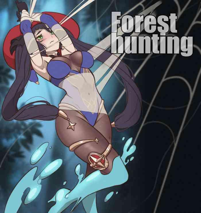 forest hunting color cover